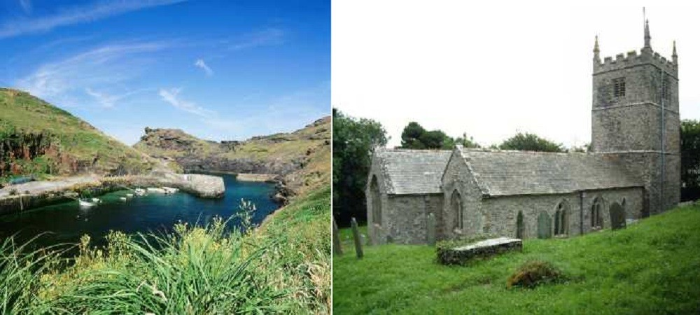 Cargurra Farm holiday cottages Boscastle