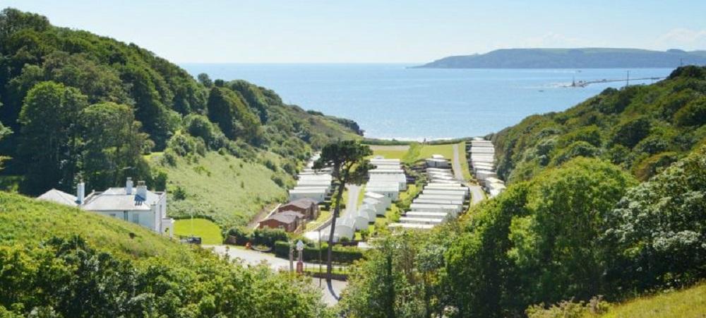 Bovisand Lodge Holiday Park Devon - valley