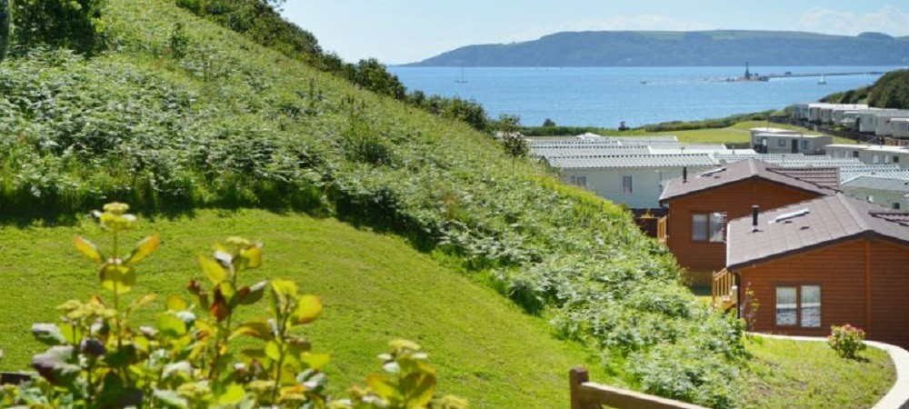 Bovisand Lodge Holiday Park Devon - view