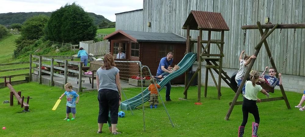 Cornhill Farm Cottages playground
