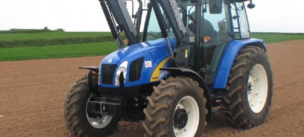 Cornhill Farm Cottages tractor