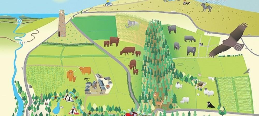 Deer Park Farm map