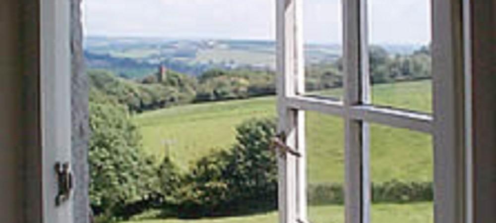Deer Park Farm view from window