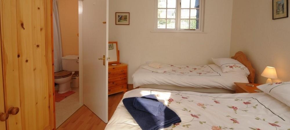 Lower Hearson Farm Shippon bedroom