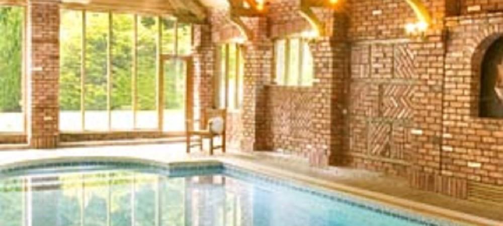 Malston Mill Farm indoor swimming pool