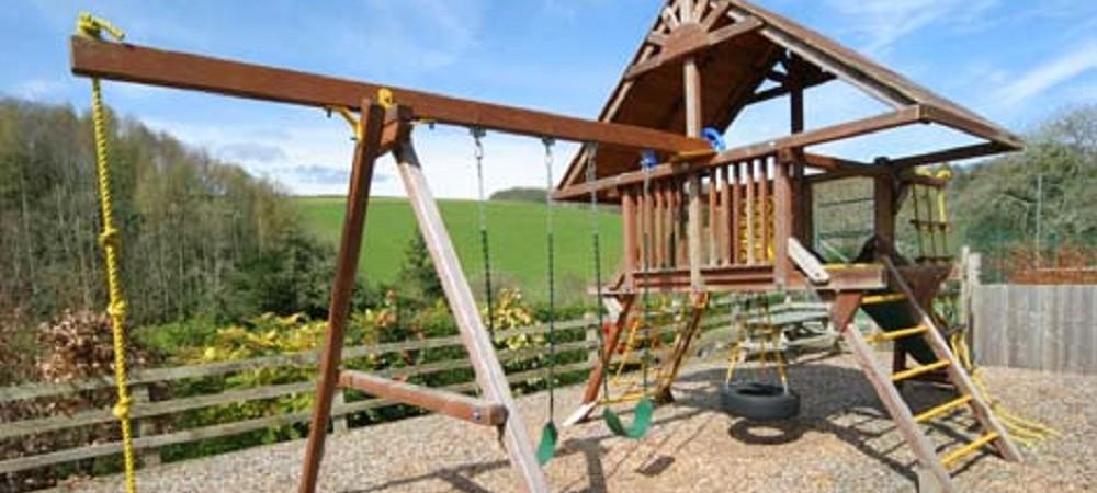 Malston Mill Farm playarea