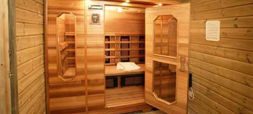 Malston Mill Farm sauna