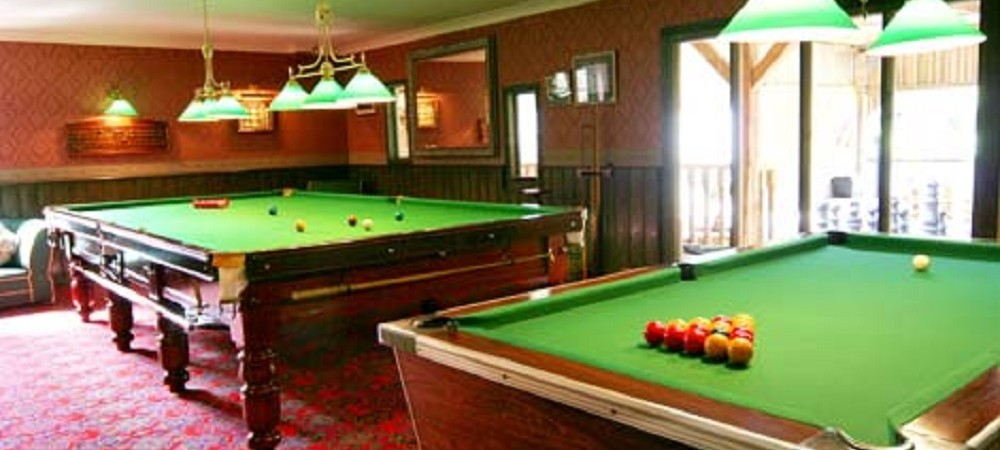Malston Mill Farm snooker room