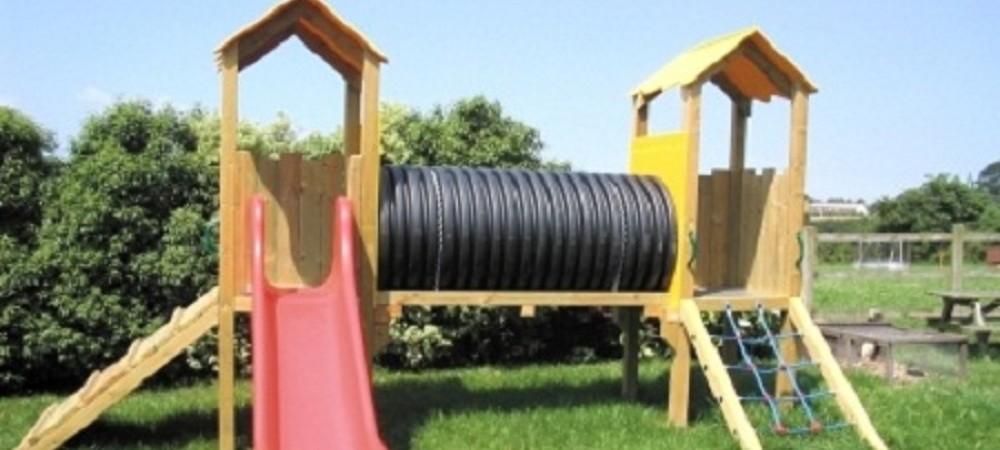 Mudgeon Vean Farm playground