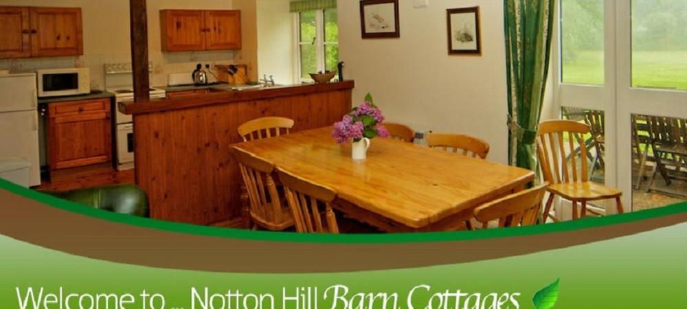 Notton Hill Barn Cottages - Fox Cottage kitchen