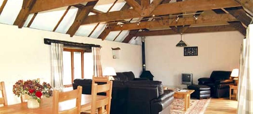 Polean Farm Cottages Little Owls Lounge
