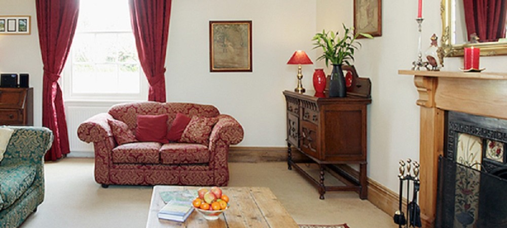 Pollaughan Farm Holiday Cottages Farmhouse lounge