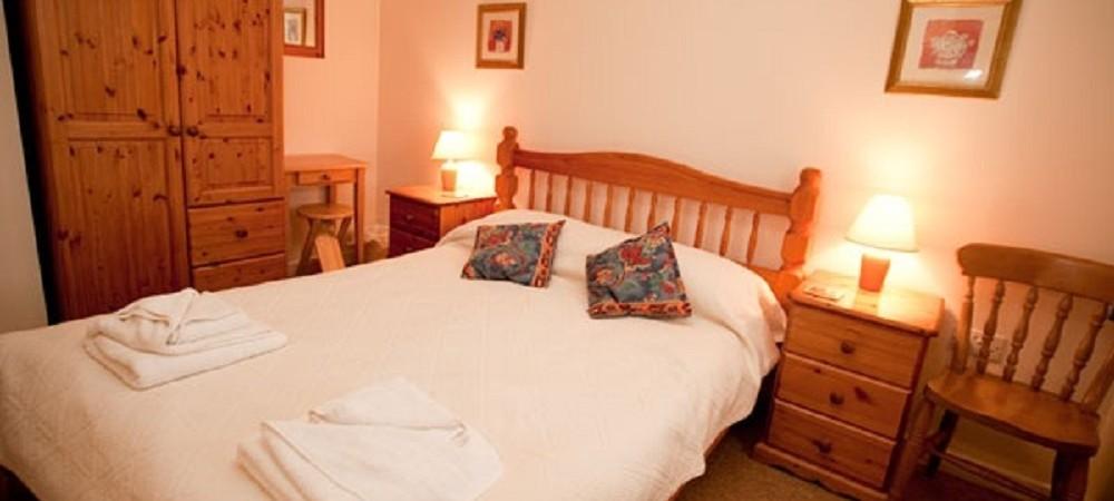 Rudge Farm Cottages bedroom