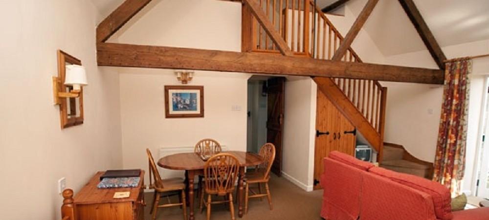 Rudge Farm Cottages living area