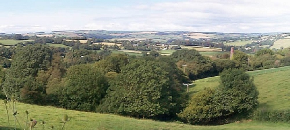 Tamar Valley Tipis view from farm