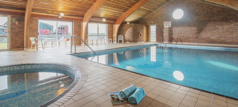 The Olde House indoor swimming pool