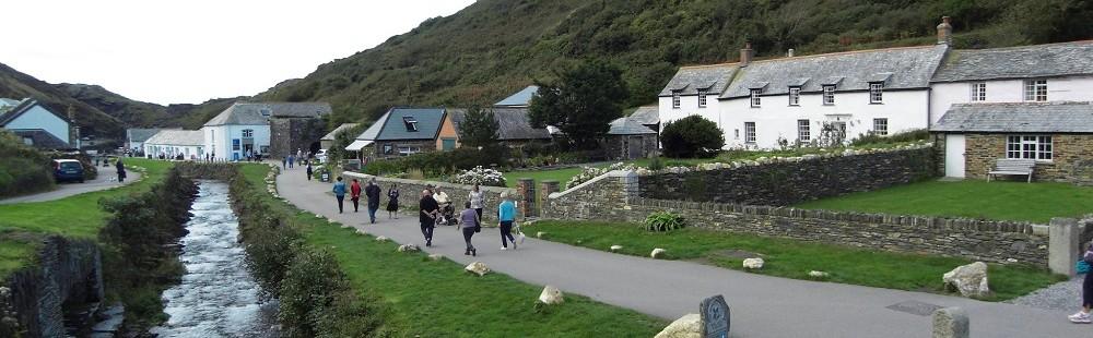 Boscastle Cornwall