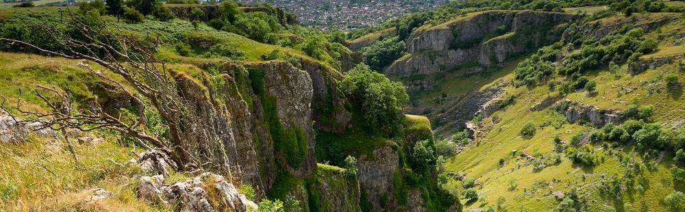 Cheddar Gorge Mendip Hills Somerset