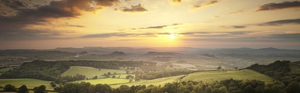 View from Eggardon Hill Dorset