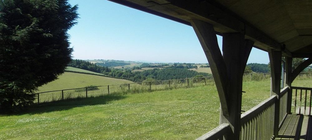 Ashridge Farm Holidays Devon - view of Dartmoor