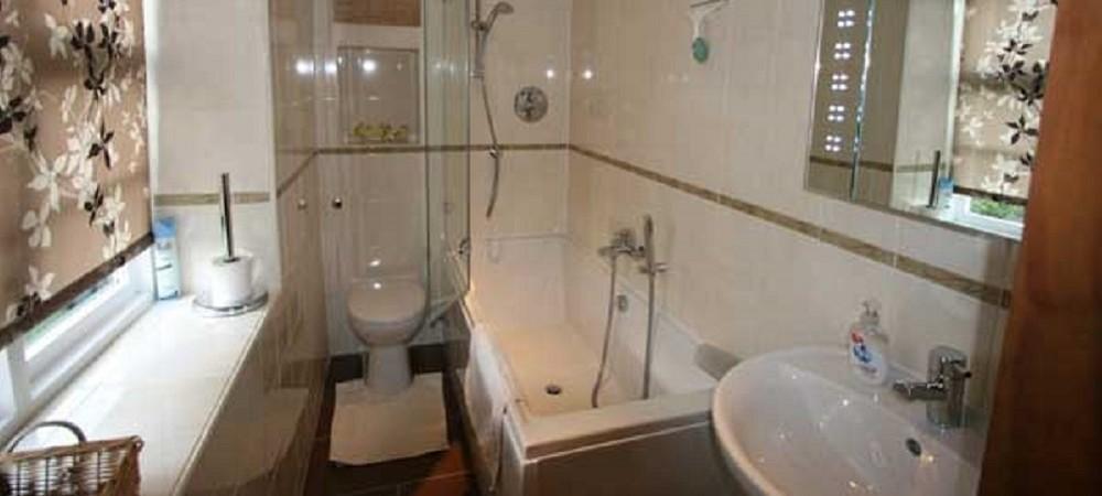 Barritshayes Farm Bed and Breakfast Devon - bathroom