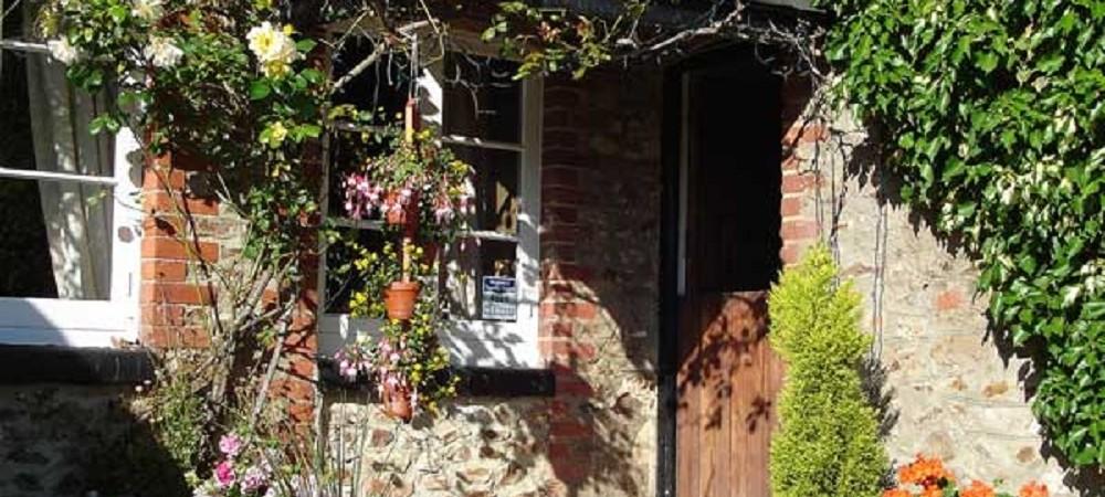 Barritshayes Farm Bed and Breakfast Devon - porch