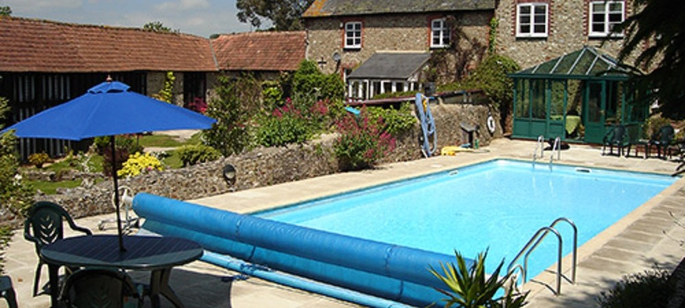 Barritshayes Farm Bed and Breakfast Devon - swimming pool