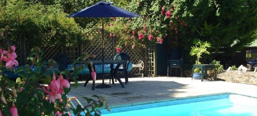 Barritshayes Farm Bed and Breakfast Devon - swimming pool (2)