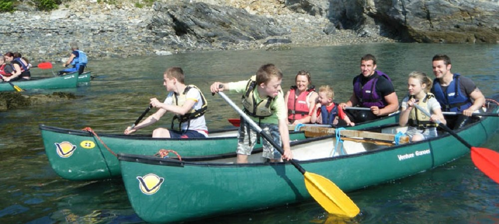 Bosinver Farm Holidays - canoeing
