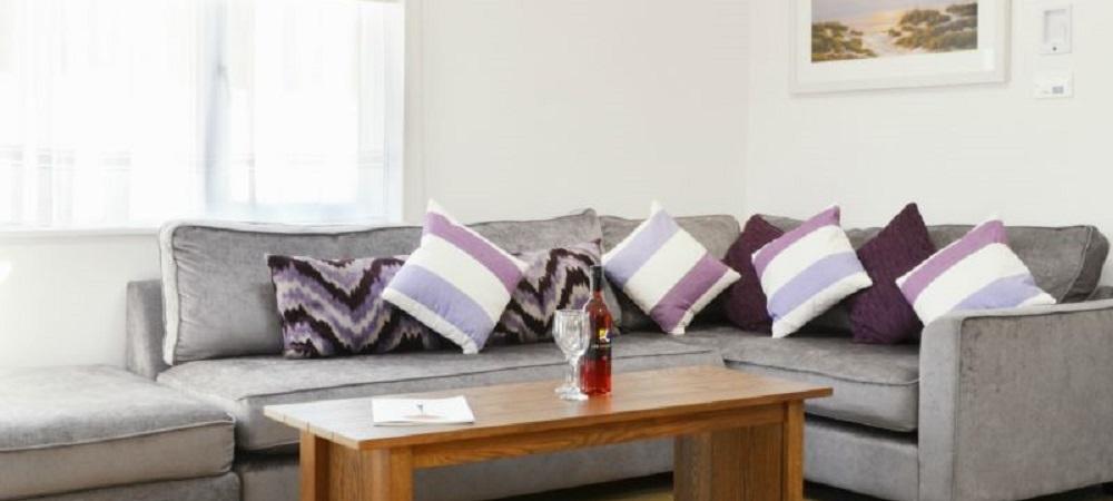 Bovisand Lodge Holiday Park Devon - Lodges Heather lounge