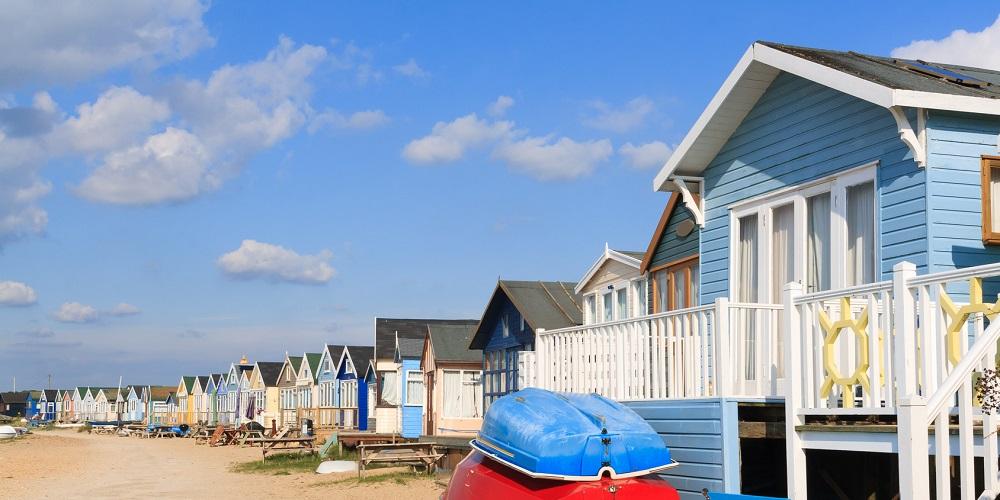 Mudeford Beach Huts Dorset