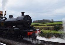 A steam train trip on the West Somerset Railway