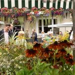 Frome Independent Market - flower stall