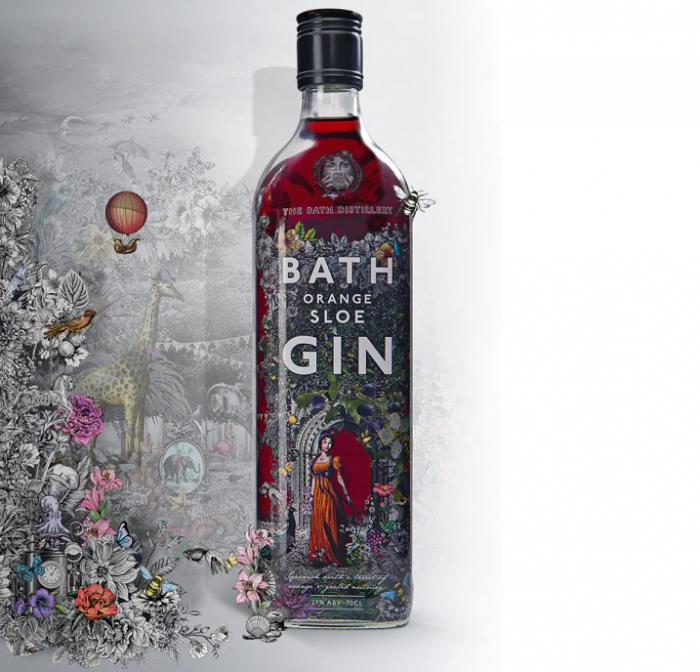 Bath Distillery Somerset Gin